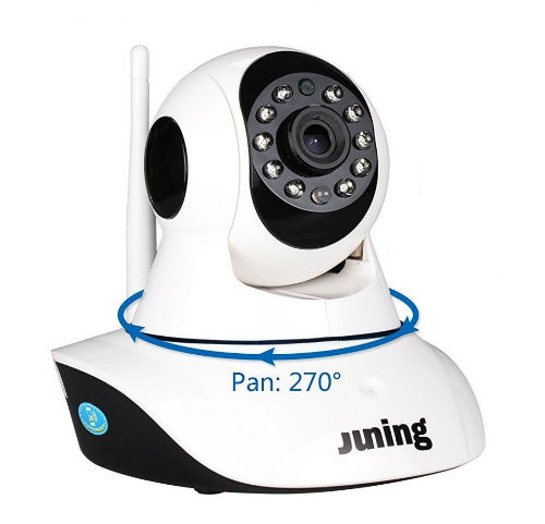 Juning 720p Security Cam, WiFi Wireless Review