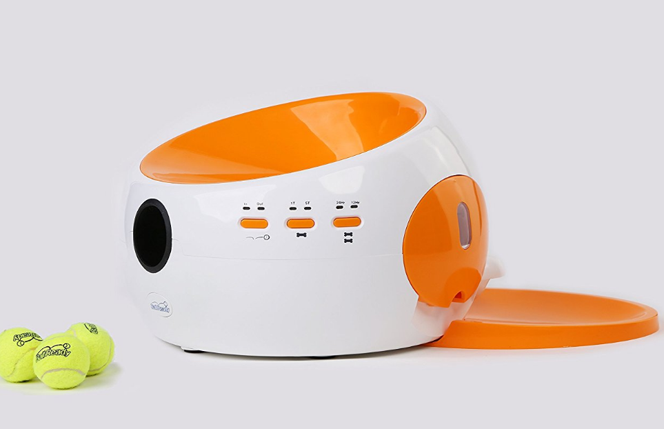 BallReady Automatic Food Dispenser and Ball Launcher