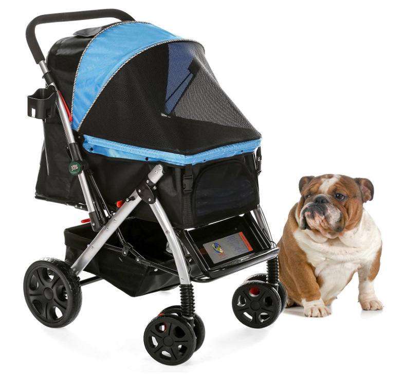HPZ Pet Rover Premium Heavy Duty Pet Stroller